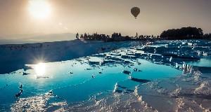 Полет на воздушном шаре в Памуккале